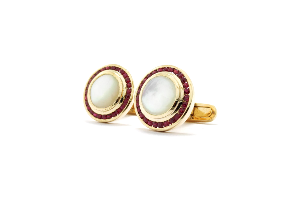 Passion-pearl-ruby-cufflinks